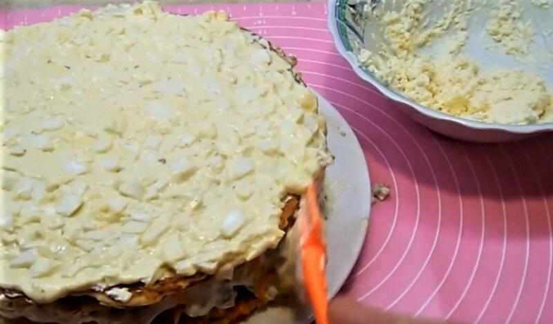рецепт куриного торта