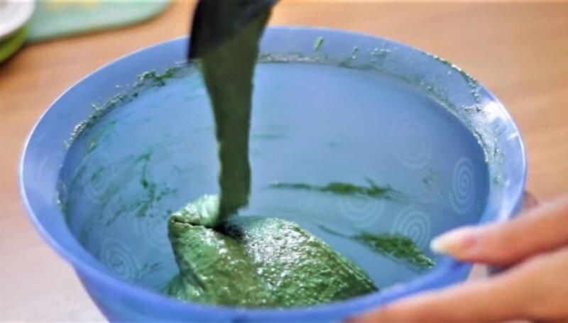 зеленый крем