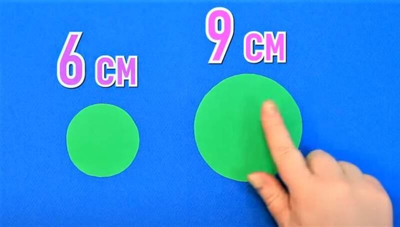 два зеленых круга