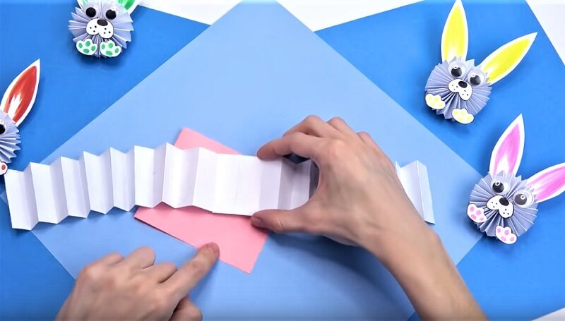 гармошка из бумаги