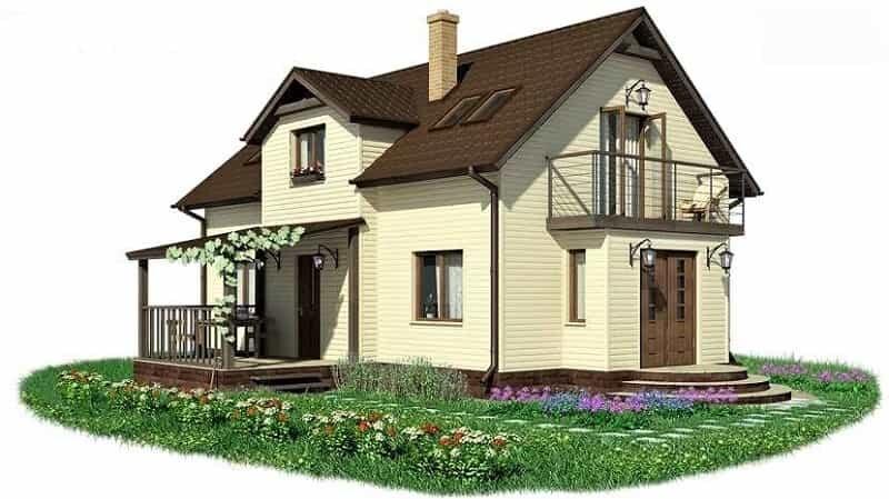 жилой дом, в котором я пишу о блоге