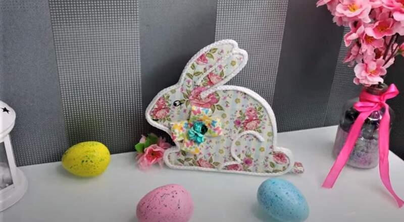 пасхальный кролик красивый