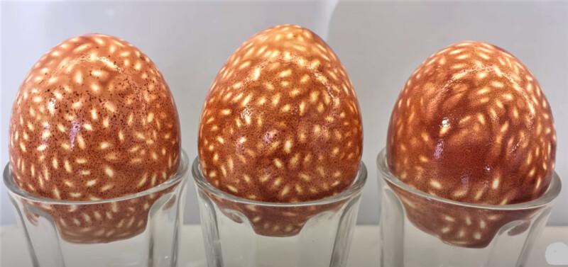покраска яиц в узор