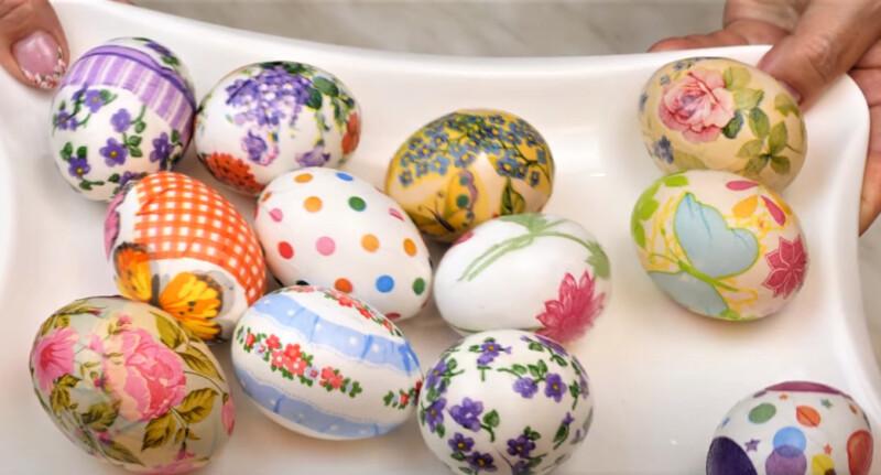 красивый яйца на Пасху