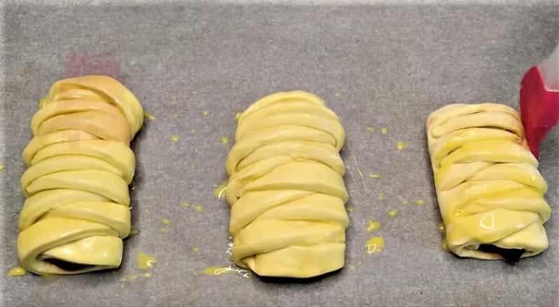 заготовка булочки