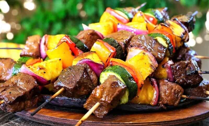 экзетическое блюдо с мясо