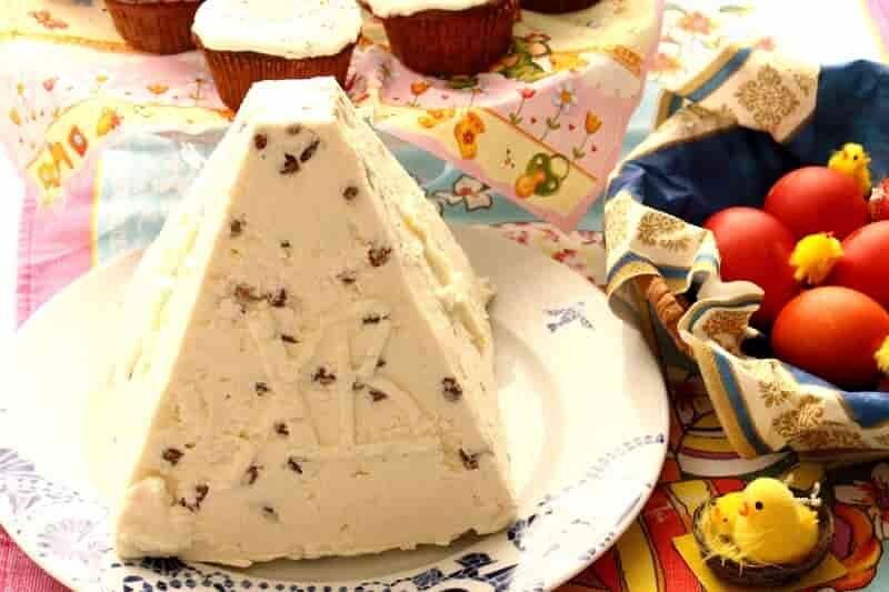 ореховый десерт с творогом