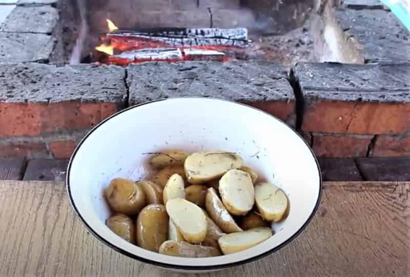 специи с картошкой