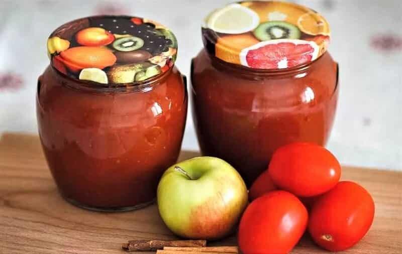кетчуп с яблоками