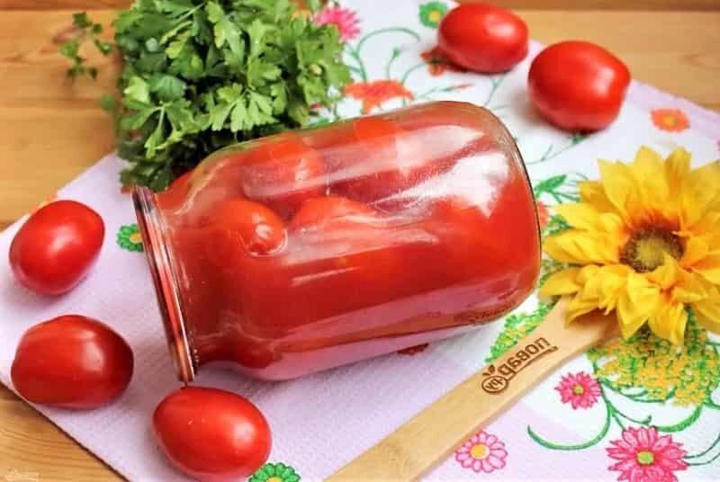 помидоры в соке томатном