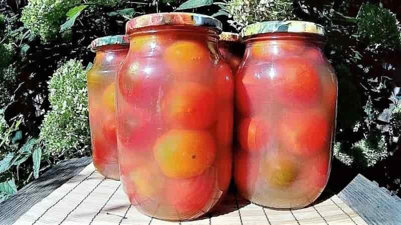 помидоры в банках на зиму