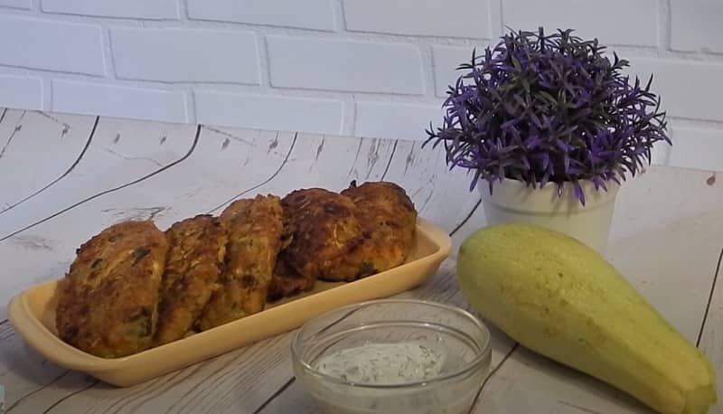 котлеты с кабачками и картошкой