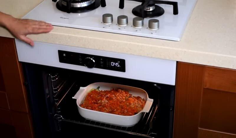 перцы в духовке