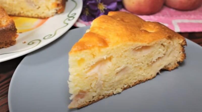 кусок пирога из теста за 5 минут