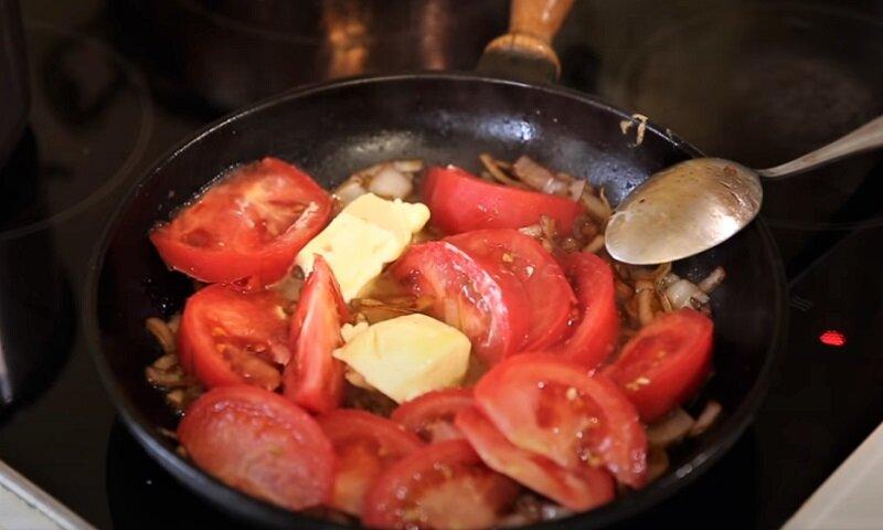 масло с помидорами