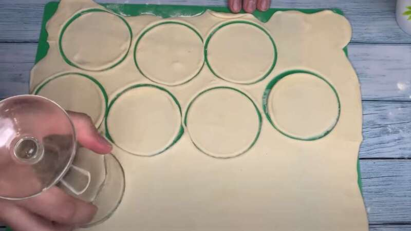 круги из теста