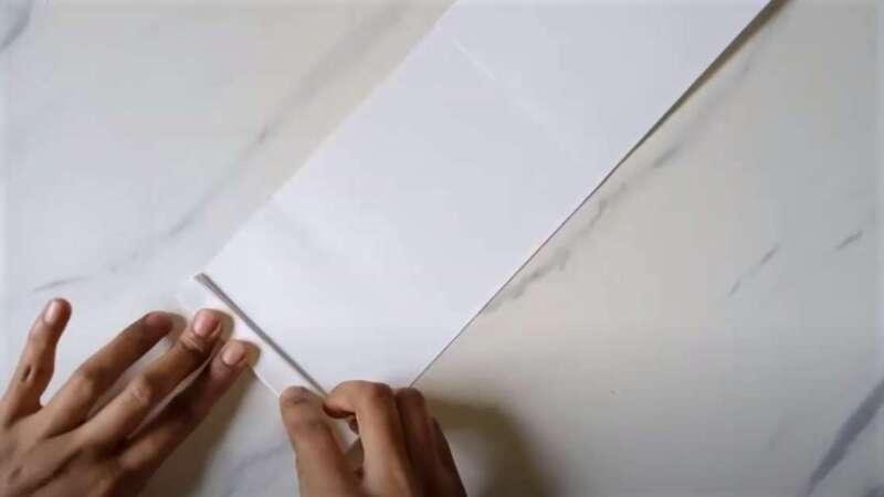 складывание бумаги