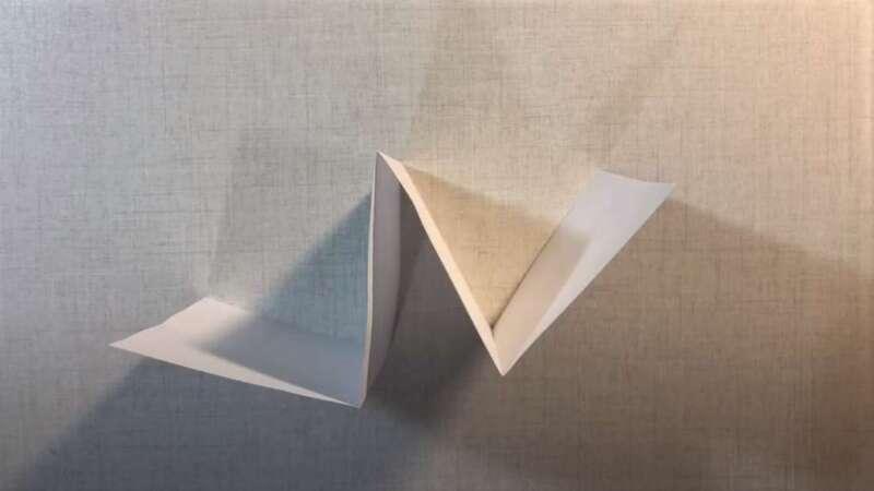 сложенная бумага