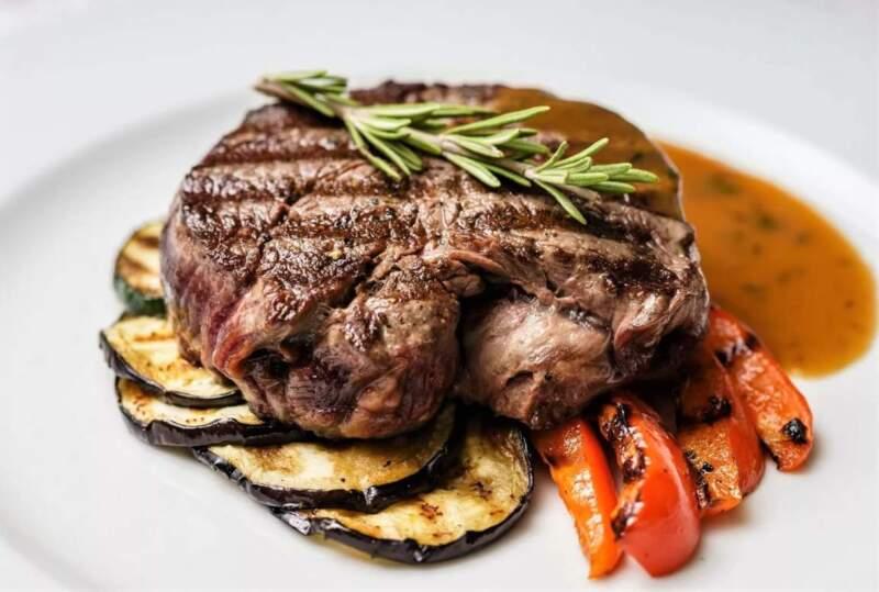 стейк из говядины