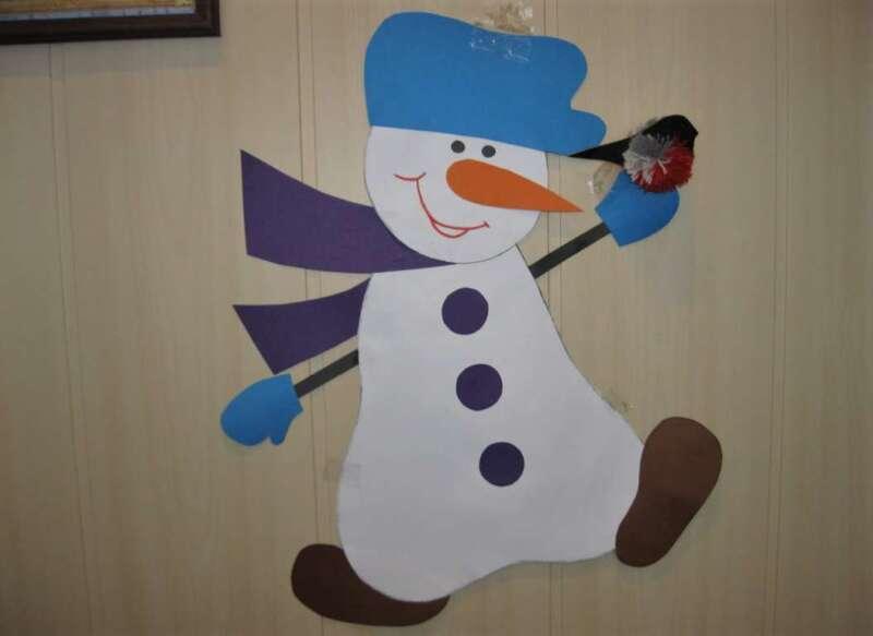 колокольчик - снеговик