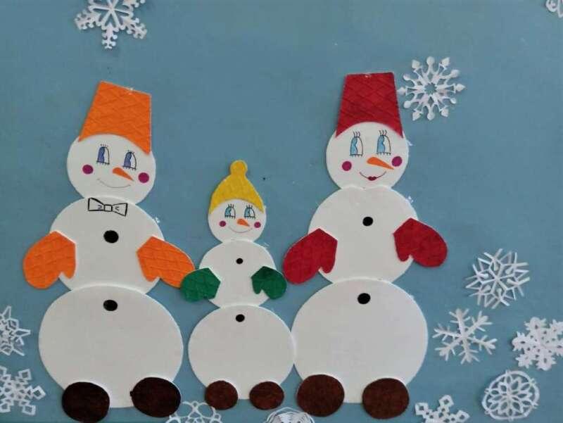 три снеговика
