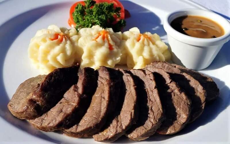 мясо и картошка