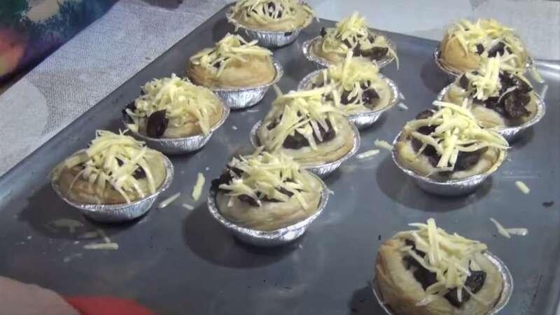 сыр на грибах