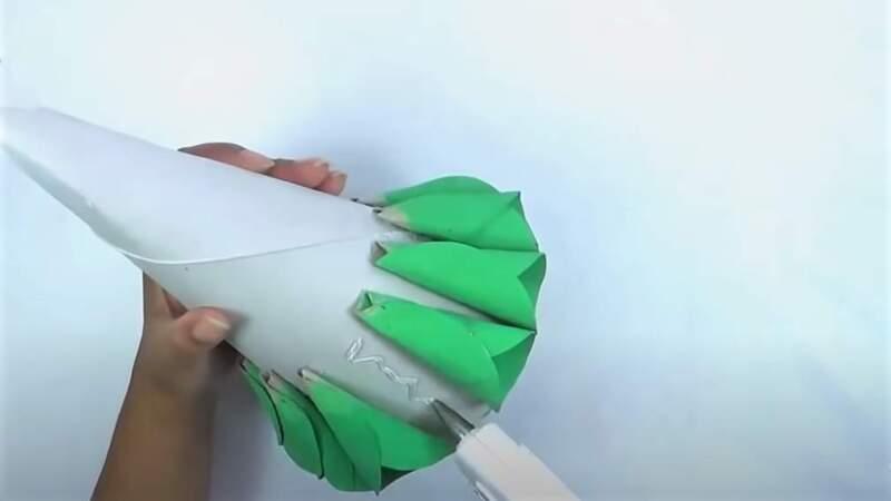 клей на конусе
