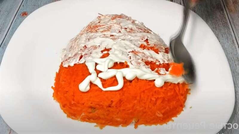 моркови слой