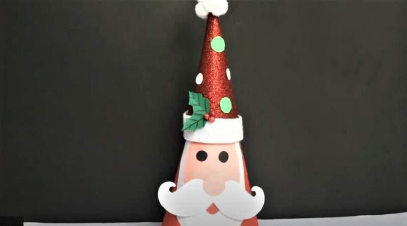 Дед Мороз из бумаги. Поделки Деда Мороза своими руками