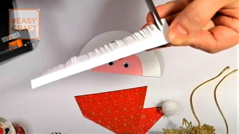 нарезанные кончики бумаги