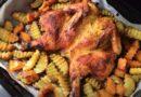 тыква с мясом курицы
