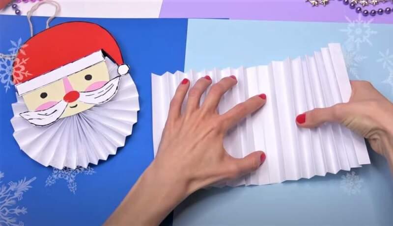 склеенные гармошки из бумаги