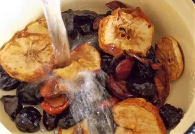 Компот из сухофруктов. Как варить компоты из сухих фруктов