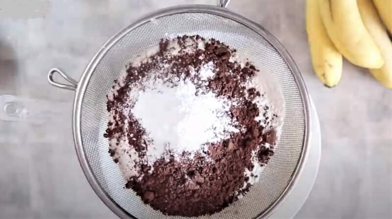 какао с мукой