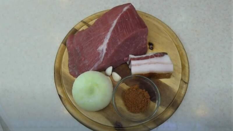 продукты для люля