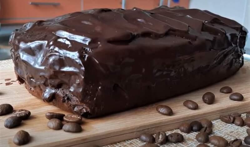 шоколадный кекс брауни