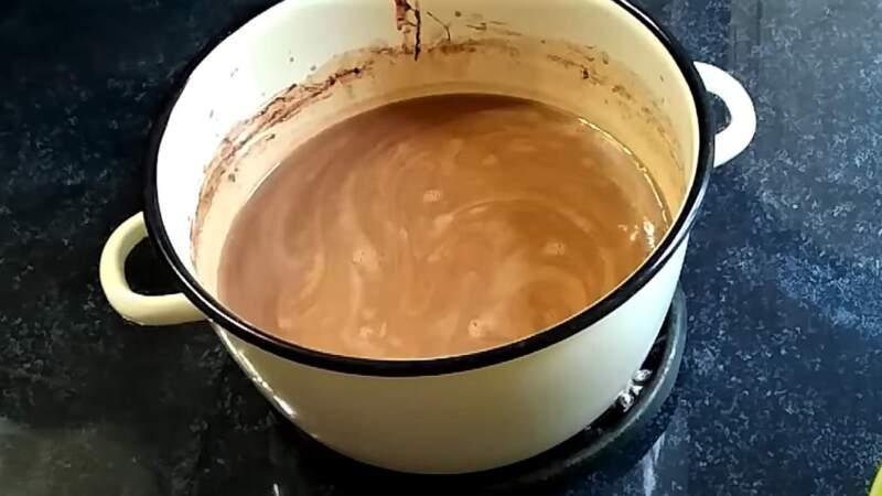 смесь шоколадная