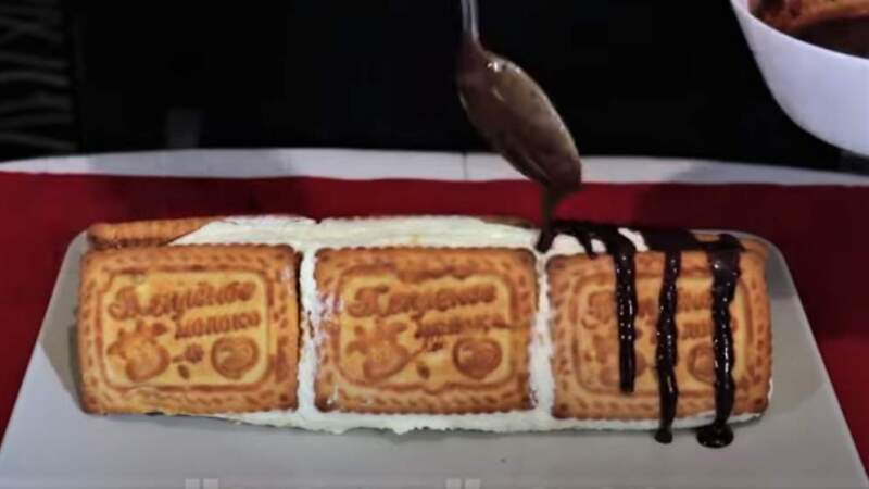 обливка торта