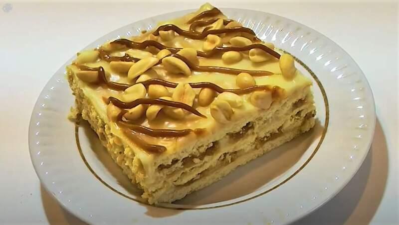 кусок торта без выпечки