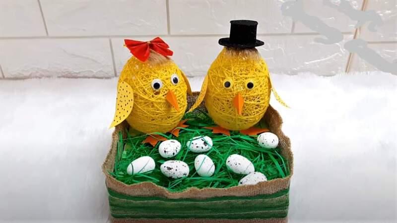 пасхальный декор - яйца