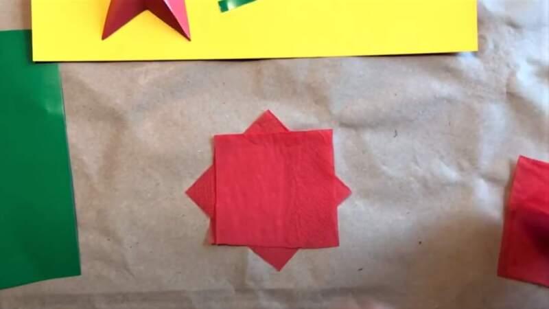 красная бумага