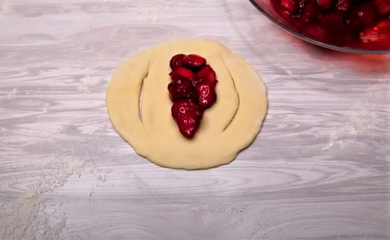 лепешка с начинкой