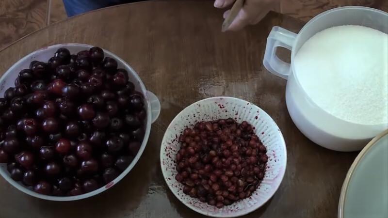 косточки от вишни