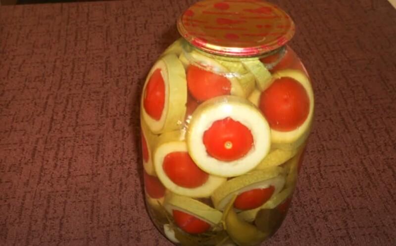 вкусные кабачки на зиму в 3 литровой банке