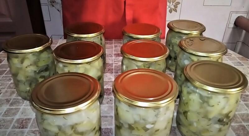 вкусные кабачки на зиму