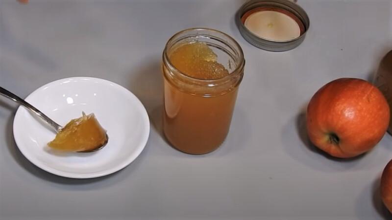 густое яблочное варенье