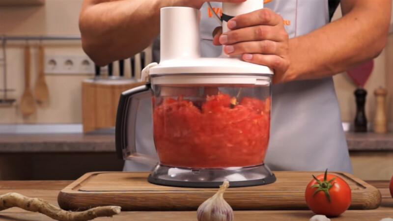 помидоры в блендере