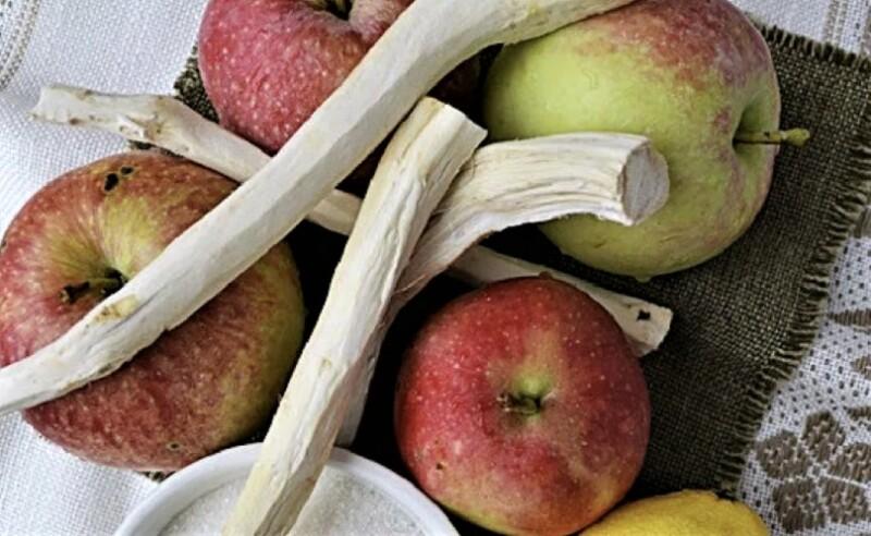 хрен и яблоки